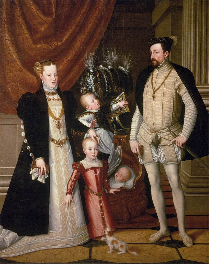 800px-Giuseppe_Arcimboldo_-_Maximilian_II_His_Wife_and_Three_Children_-_WGA0797.jpg